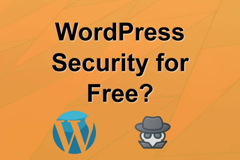 WordPress Security for Free?