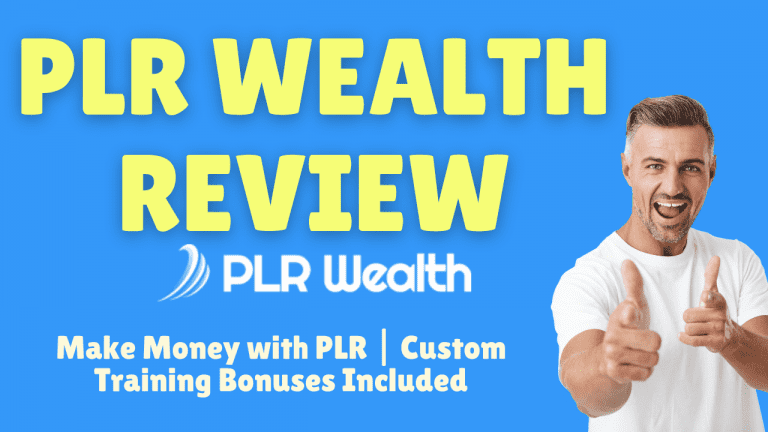 PLR Wealth Review: Make Money with PLR